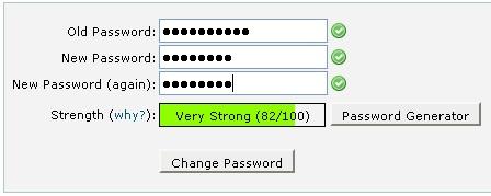 change password2